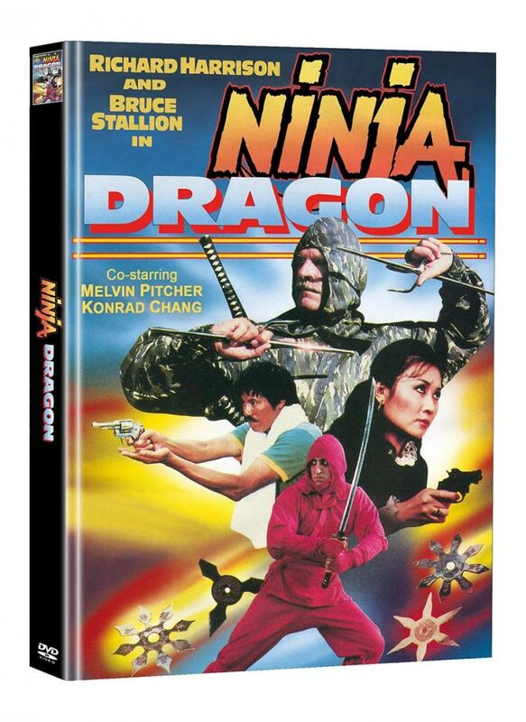 Ninja Dragon - 2-Disc Mediabook (Cover D) - limitiert auf 66 Stück DVD Bild
