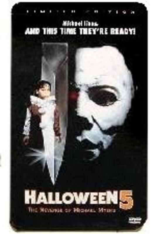 Halloween 5 - Limited Edition Tin RC1 DVD Bild