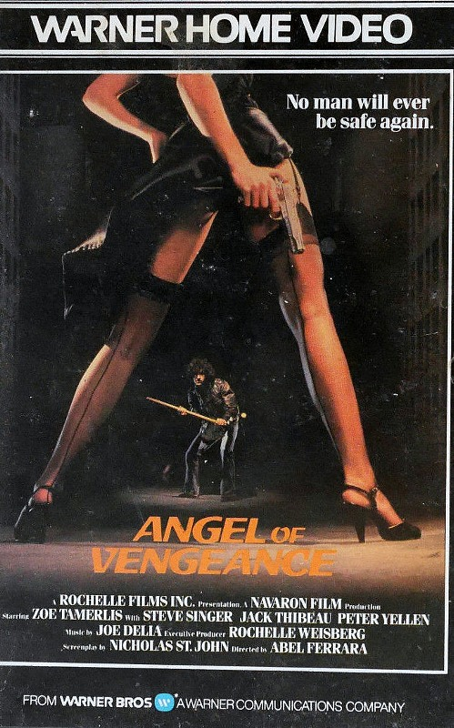 Angel of Vengeance UK VHS-Video Bild