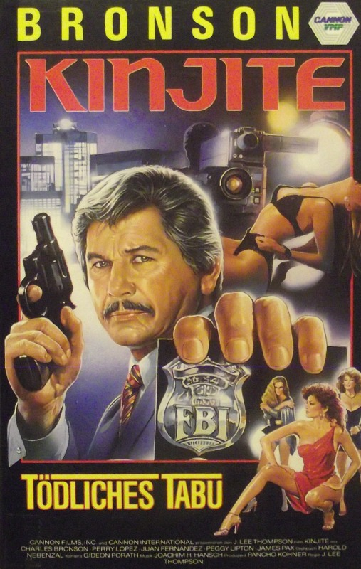 Kinjite - Tödliches Tabu  (Charles Bronson) VHS-Video Bild
