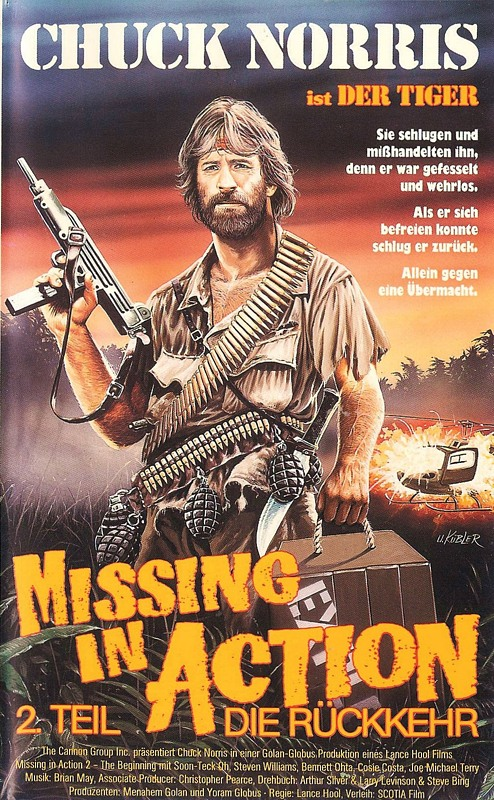 Missing in Action 2 VHS-Video Bild