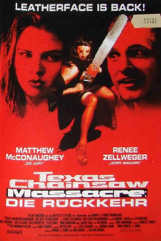 Texas Chainsaw Massacre - Die Rückkehr VHS-Video Bild
