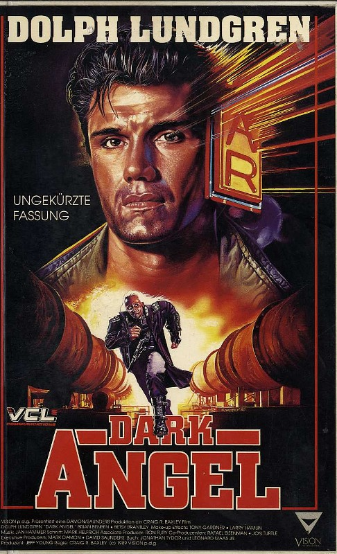 Dark Angel VHS-Video Bild