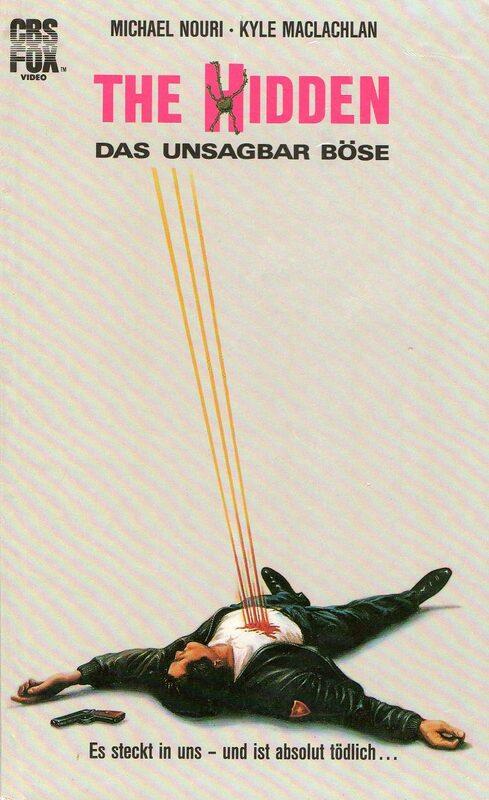 The Hidden - Das unsagbar Böse VHS-Video Bild