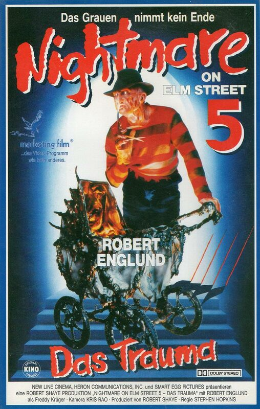 Nightmare on Elm Street 5 - Das Trauma VHS-Video Bild