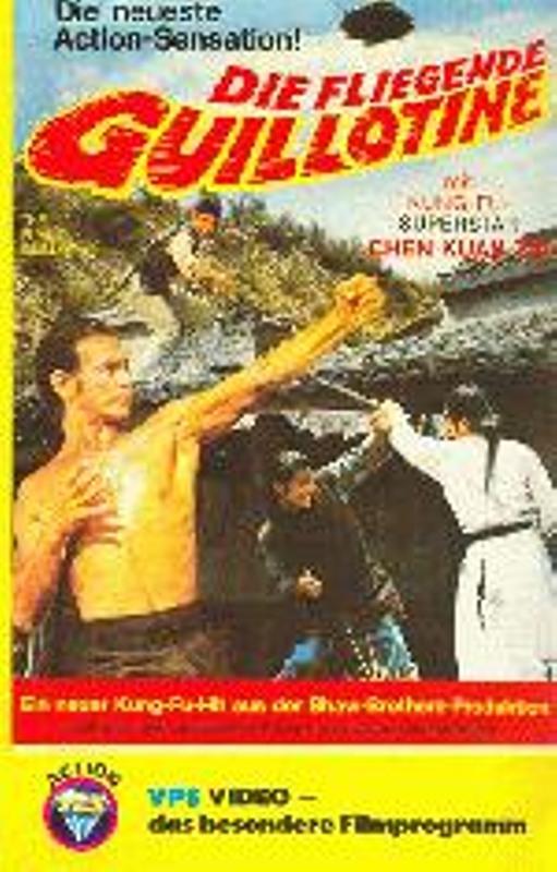 Die fliegende Guillotine VHS-Video Bild