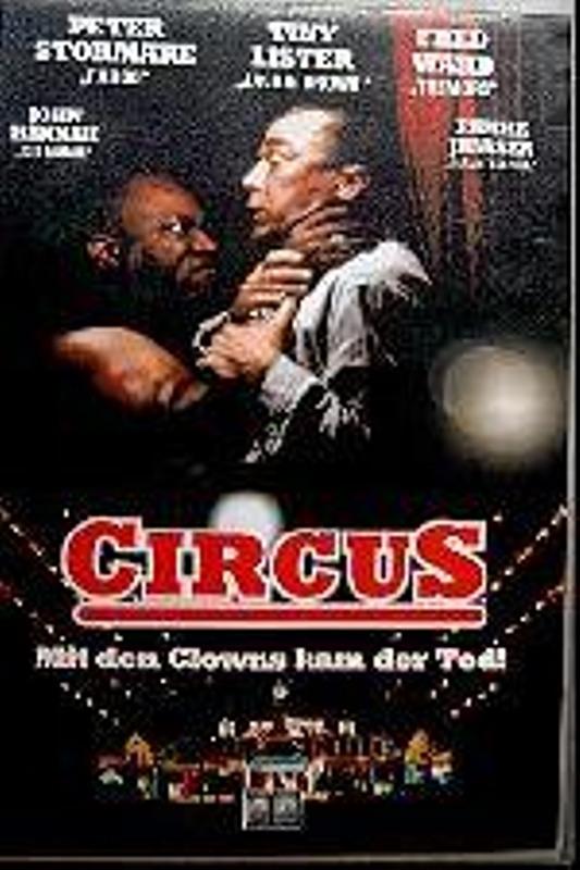 Circus - Mit den Clowns kam der Tod! VHS-Video Bild