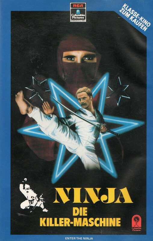 Ninja - Die Killer-Maschine VHS-Video Bild