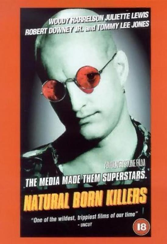 Natural Born Killers UK VHS-Video Bild