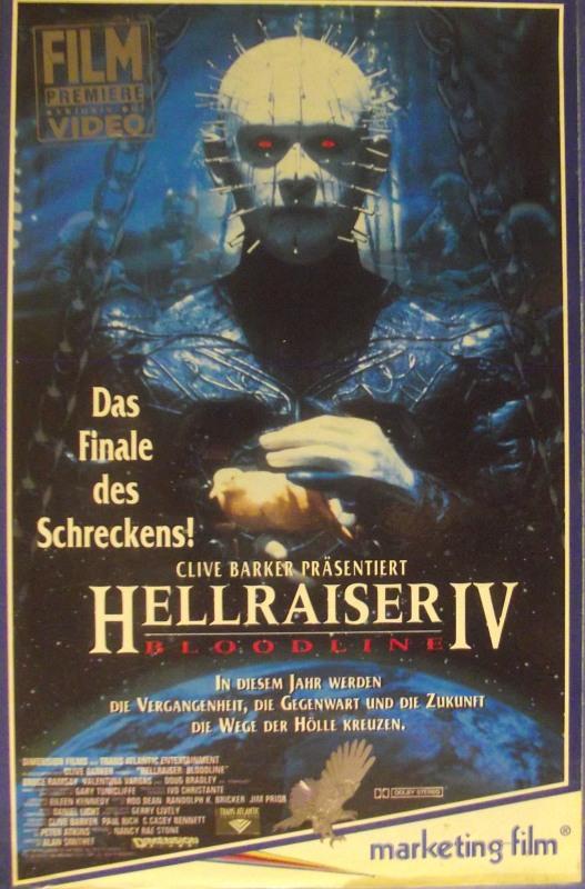 Hellraiser 4 - Bloodline VHS-Video Bild