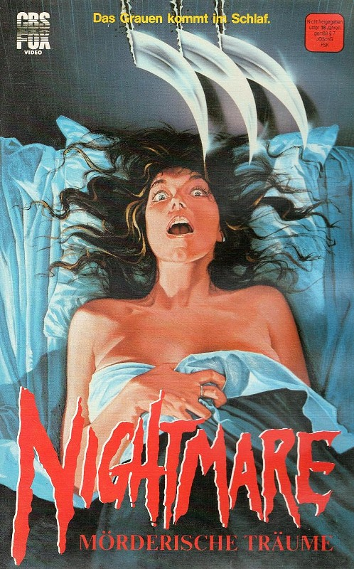 Nightmare on Elm Street 1 - Mörderische Träume VHS-Video Bild