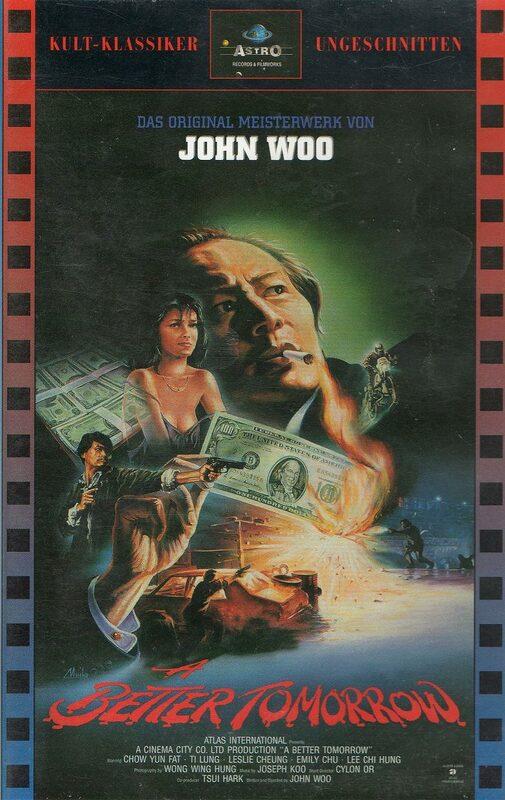 A Better Tomorrow VHS-Video Bild