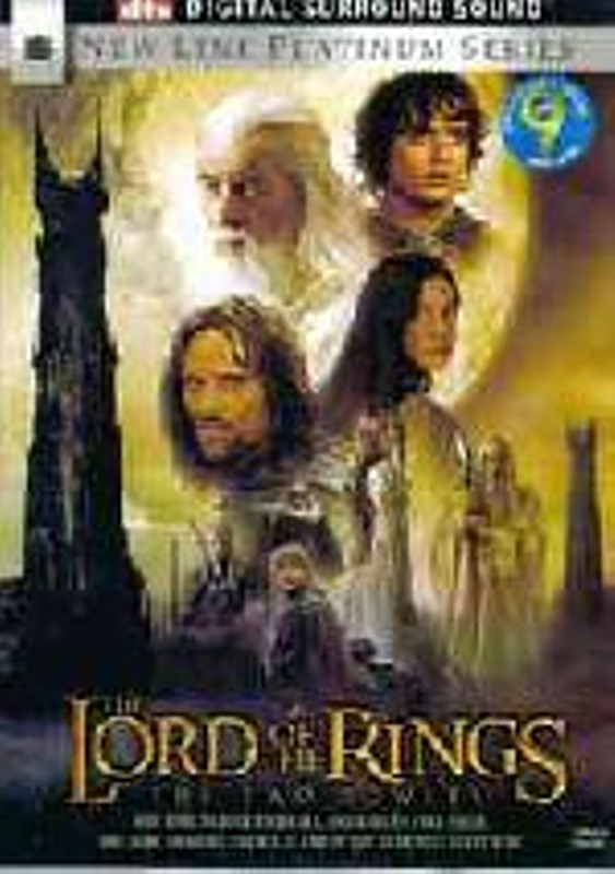 The Lord of the Rings - The Two Towers - Collectors Edition RC1 DVD Bild
