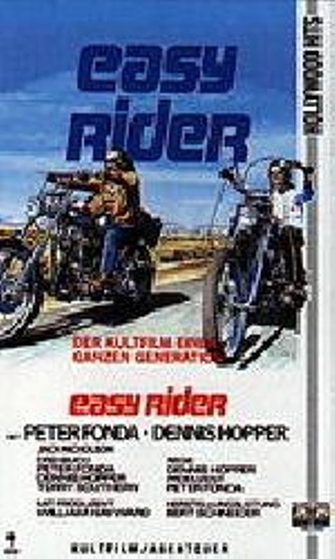 Easy Rider VHS-Video Bild