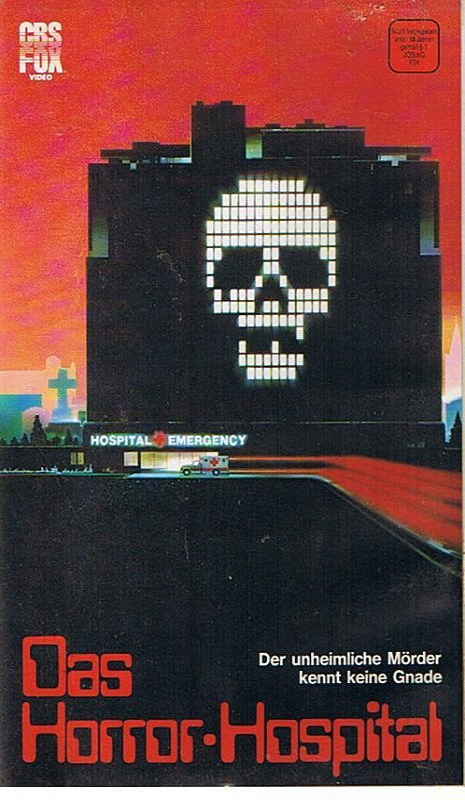 Das Horror Hospital VHS-Video Bild