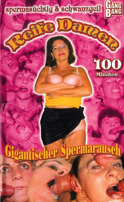 Gang Bang - Reife Damen Gigantischer Spermarausch VHS-Video Bild