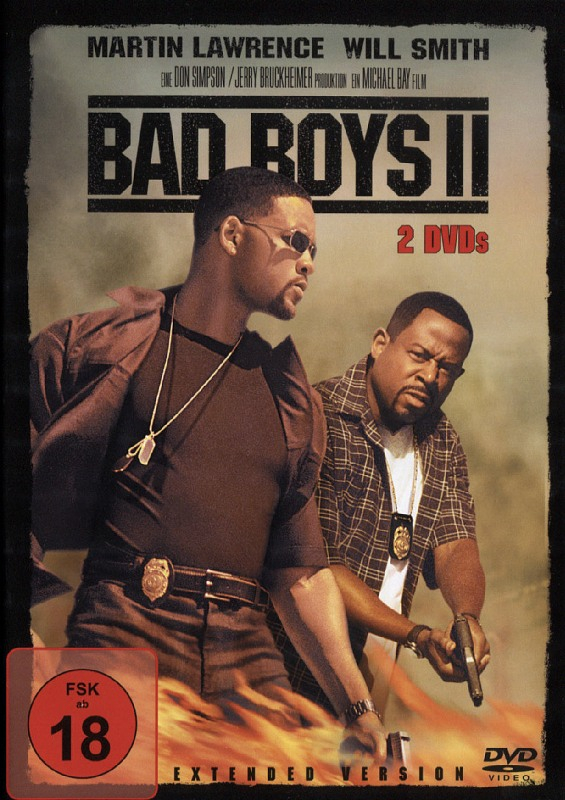 Bad Boys 2 - Extended Version  [2 DVDs] DVD Bild