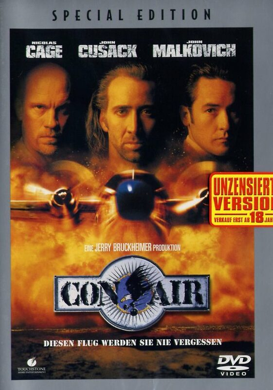 Con Air (Special Edition) DVD Bild