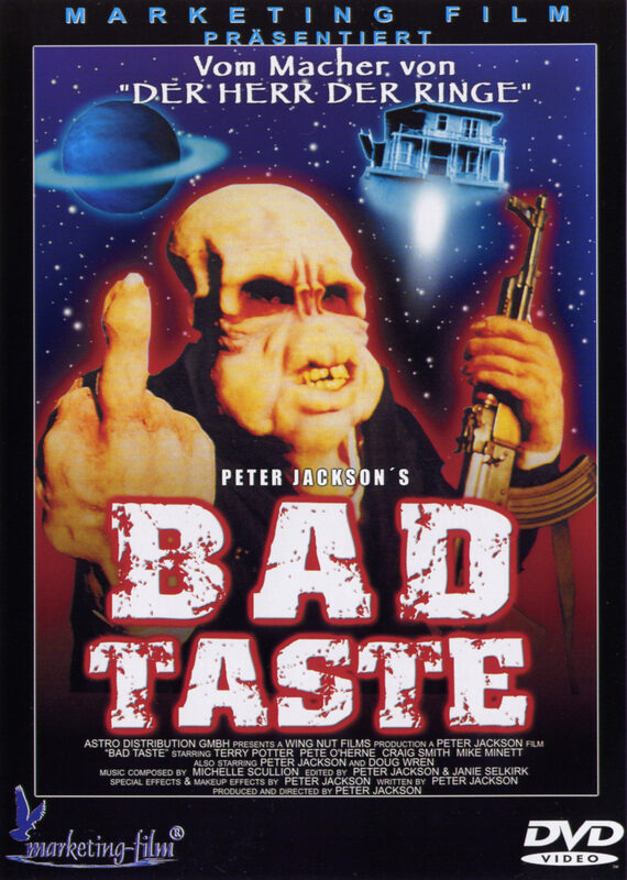 Bad Taste DVD Bild